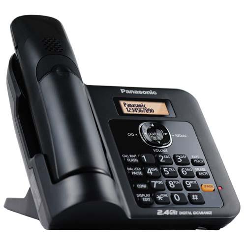 گوشی تلفن بی سیم پاناسونیک مدل KX-TG3811 | Panasonic KX-TG3811BX Cordless Phone