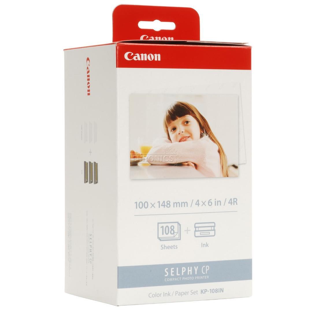 کاغذ کانن KP-108IN | Canon-KP-108-IN-paper-ink Cartridge