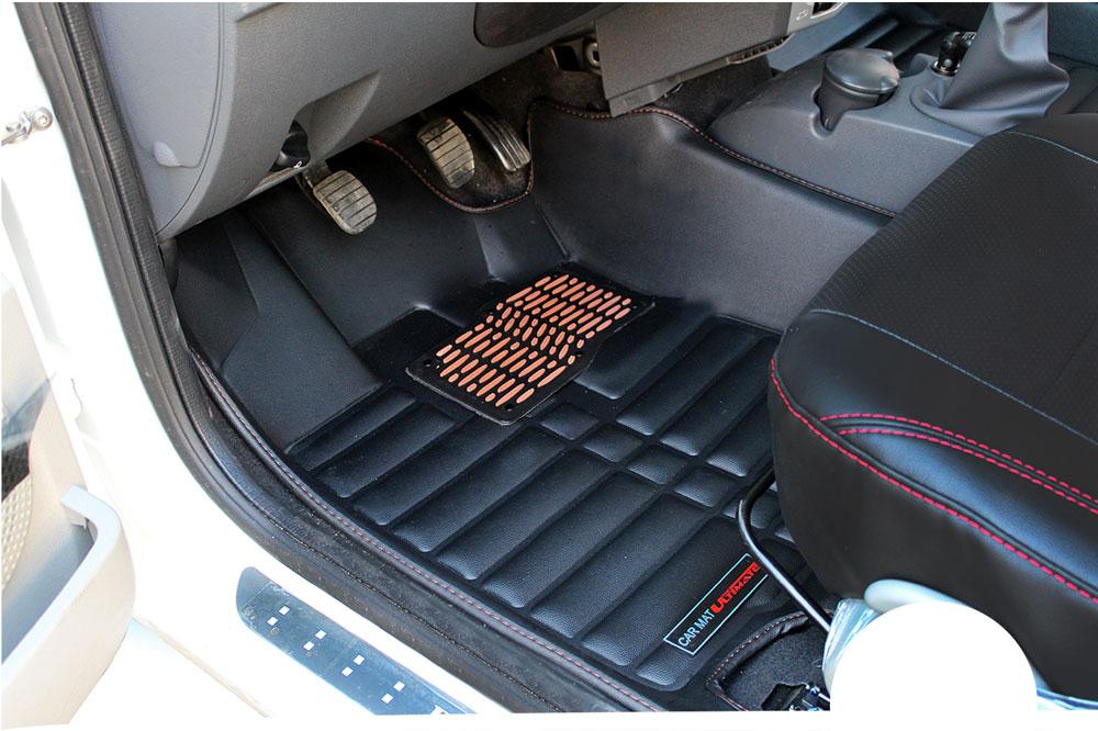 کفپوش سه بعدی چرم ال 90 برند Ultimate | 3D Flooring Leather Car Ultimate For Reno L90