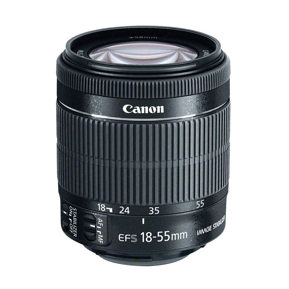 لنز دوربین کانن EF-S 18-55mm F/3.5-5.6 IS II | Canon EF-S 18-55mm F/3.5-5.6 IS II Lens