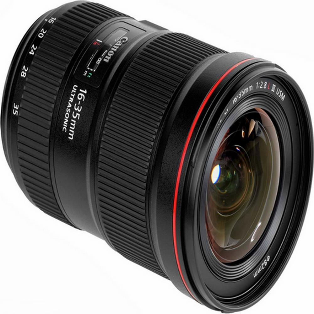لنز واید کانن Canon EF 16-35mm f/4L IS USM - گارانتی ایده آل |