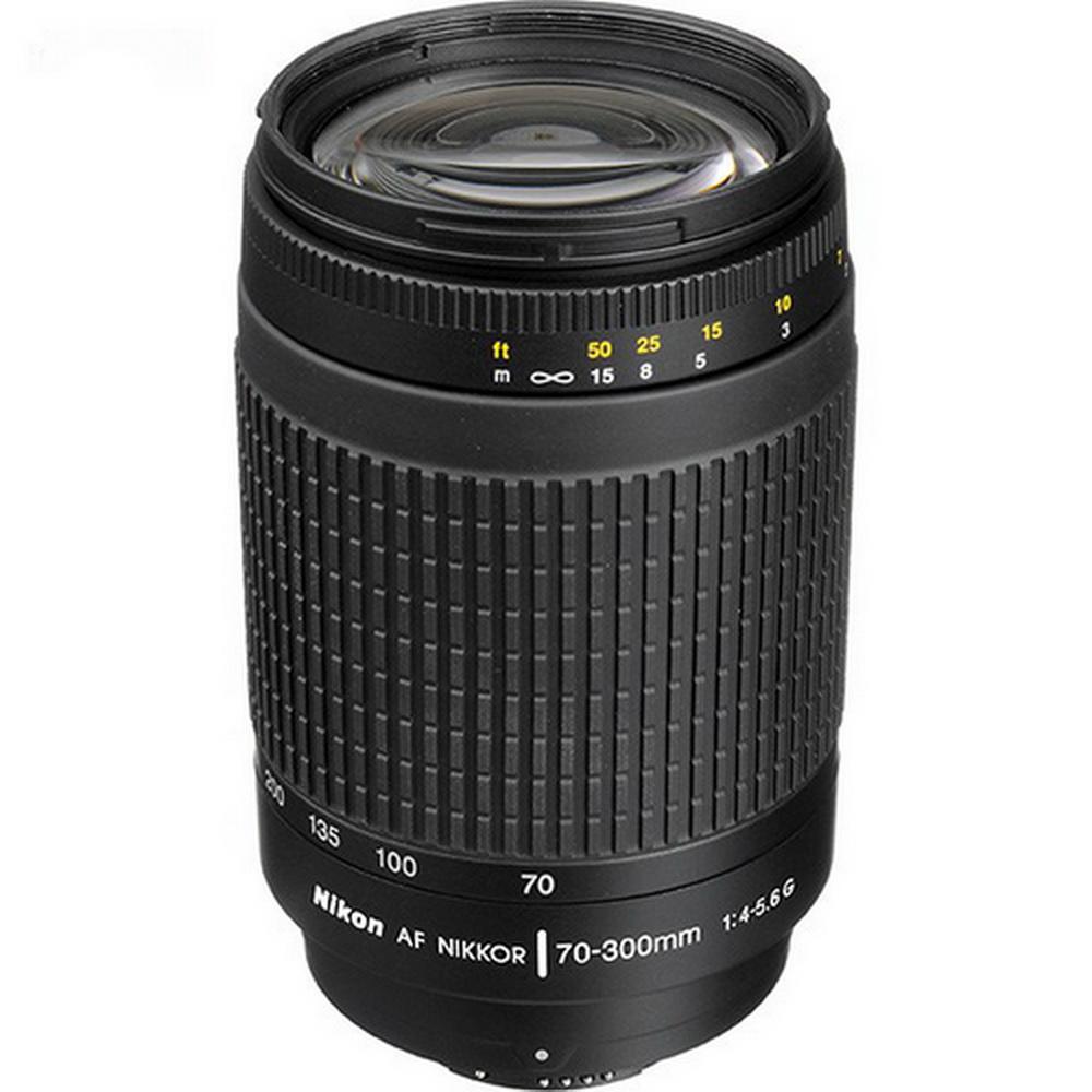 لنز دوربین نيکون 70-300 میلیمتر F/4-5.6G | Nikon 70-300mm F/4-5.6G lens