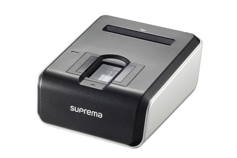 اسکنر اثر انگشت سوپرما BioMini Combo با کارتخوان | Suprema BioMini Combo Fingerprint Scanner
