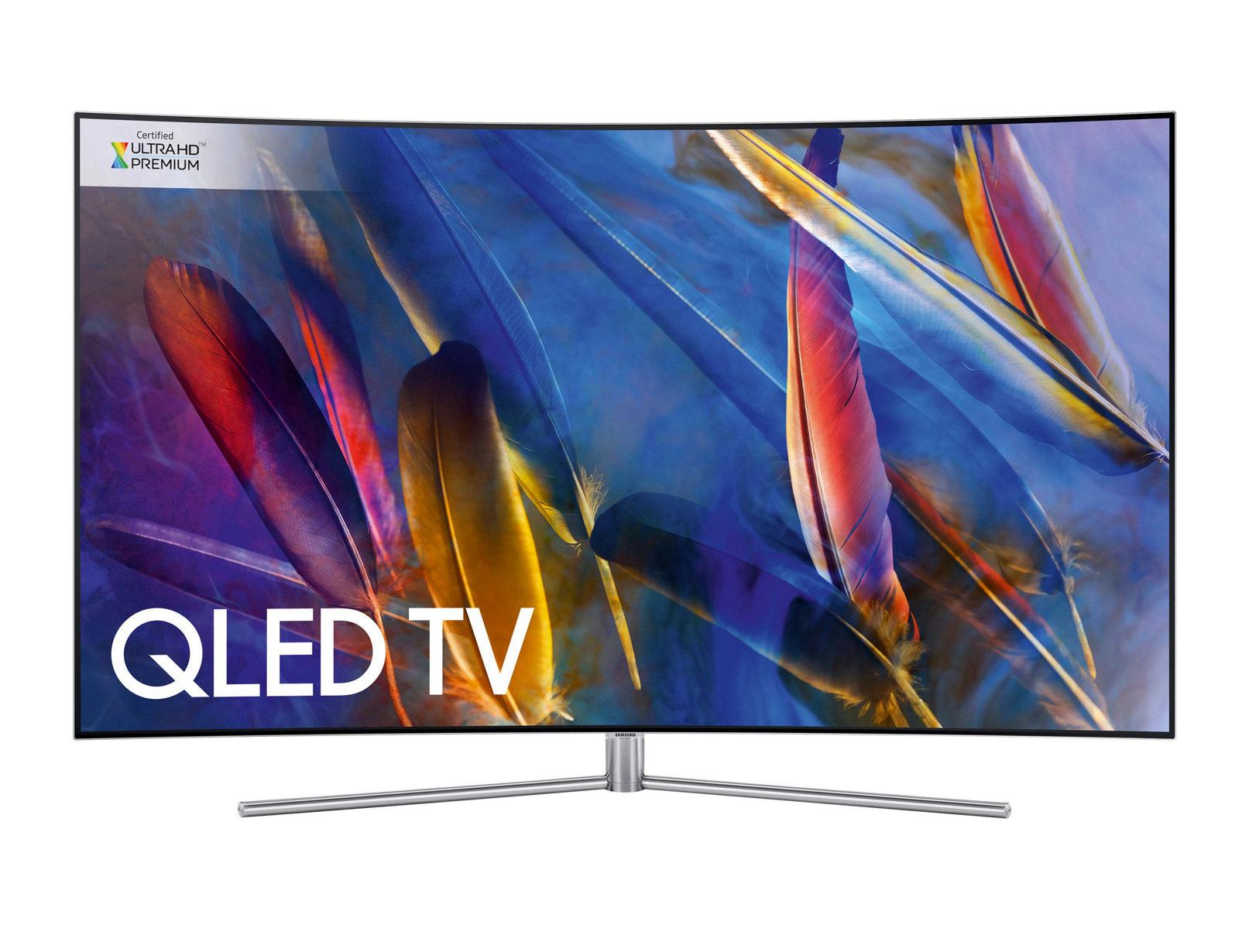 تلويزيون کيولد هوشمند خميده سامسونگ 65Q78 سايز 65 اينچ   Samsung 65Q78 Curved Smart QLED TV 65 Inch